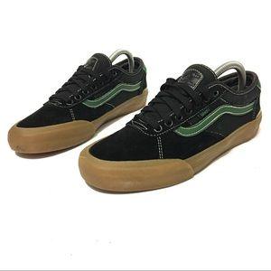 Black & Green Chima Ferguson Vans size 8